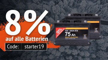 Aktion Batterien