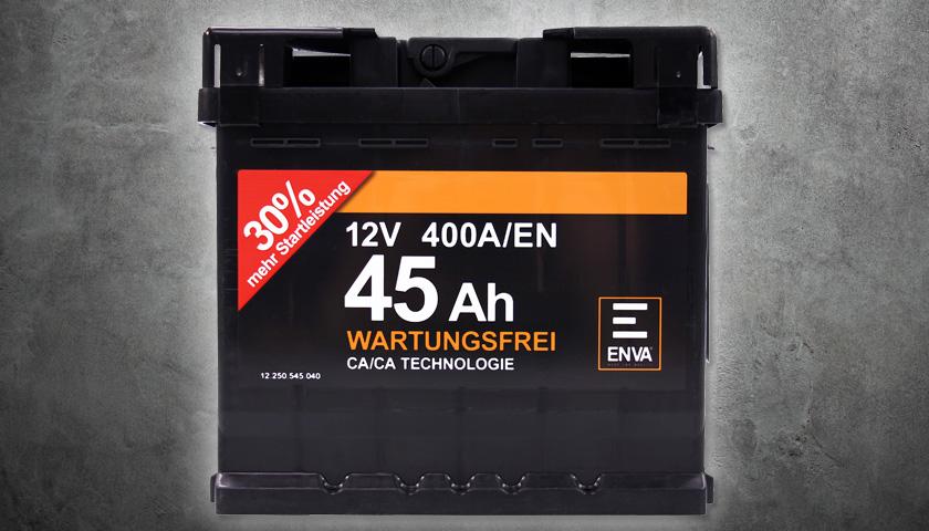 Autobatterie lagern