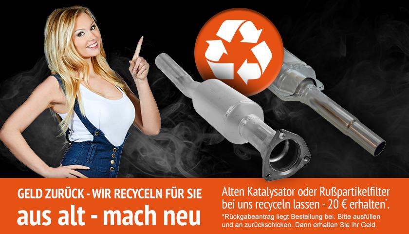 Katalysator recyceln