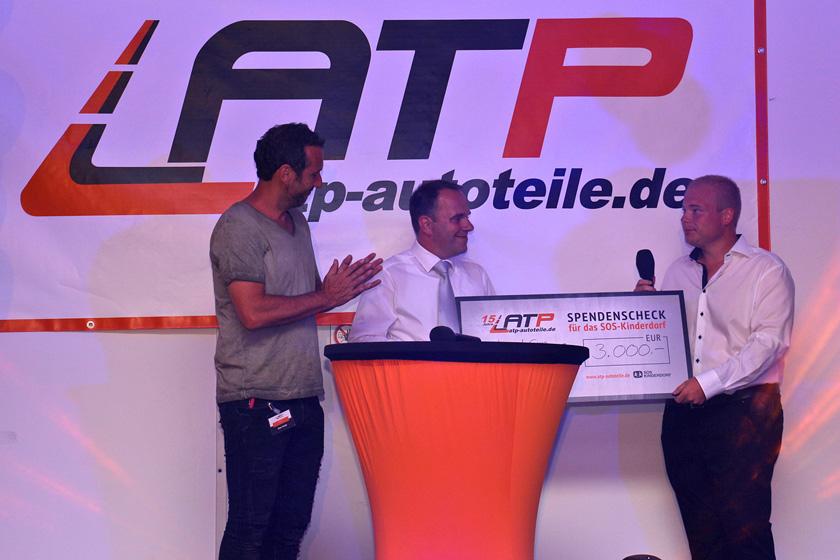ATP spendet für das SOS Kinderdorf